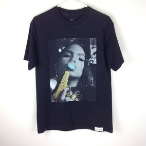 Diamond Supply Co. Cassie Gun Smoke T Shirt Sz M